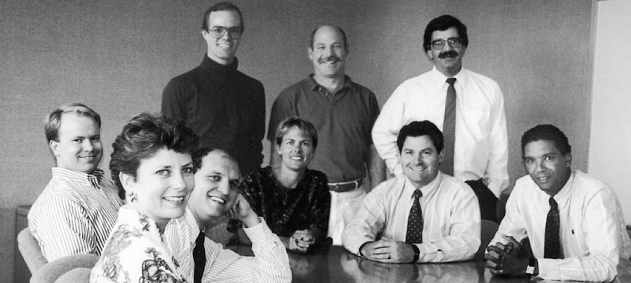 MTC college interns who became staff, 1993