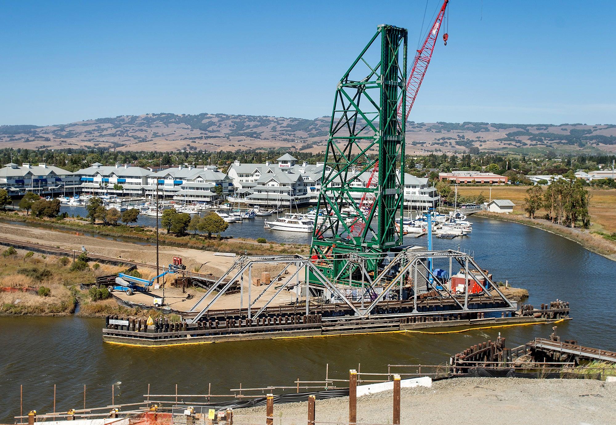 SMART Operation and Maintenance Facility in Santa Rosa