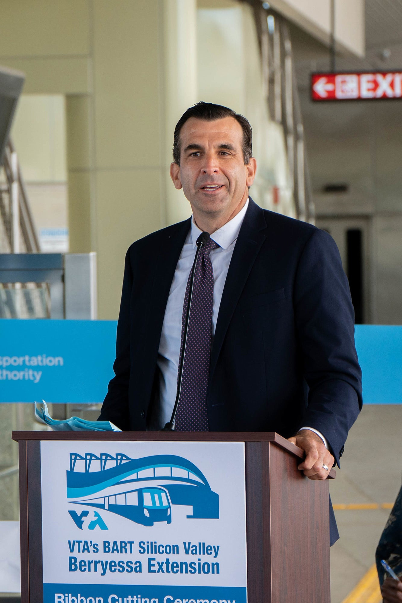 San Jose Mayor and MTC Commissioner Sam Liccardo. Photo: Santa Clara Valley Transportation Authority