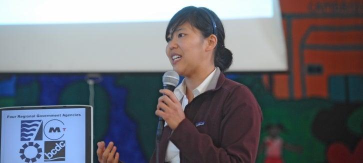 Speaker at Plan Bay Area meeting
