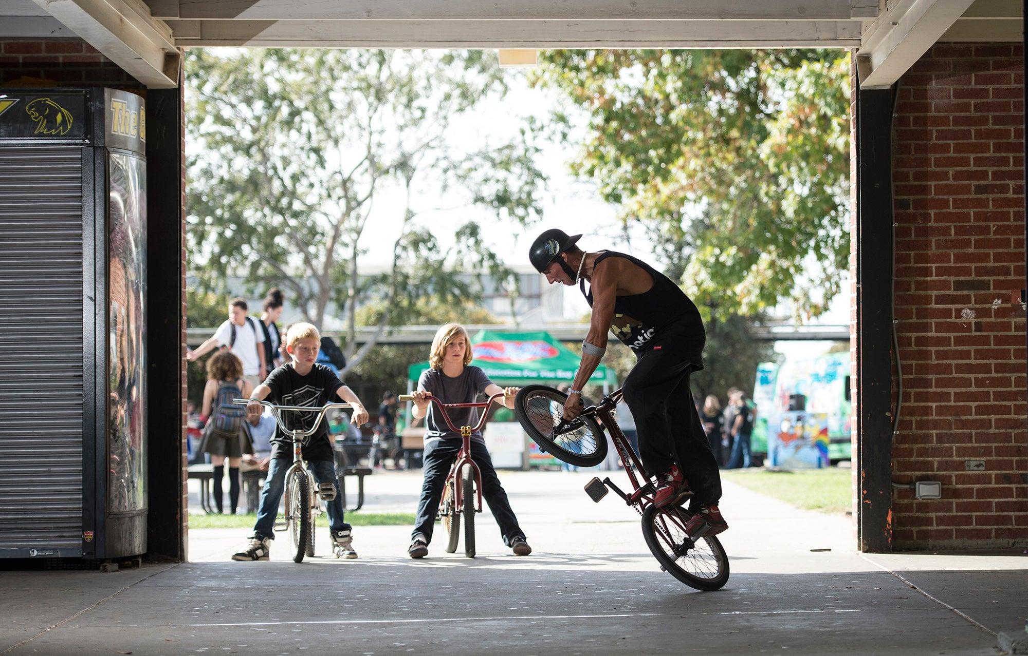 Bay Area BikeMobile at Antioch High School