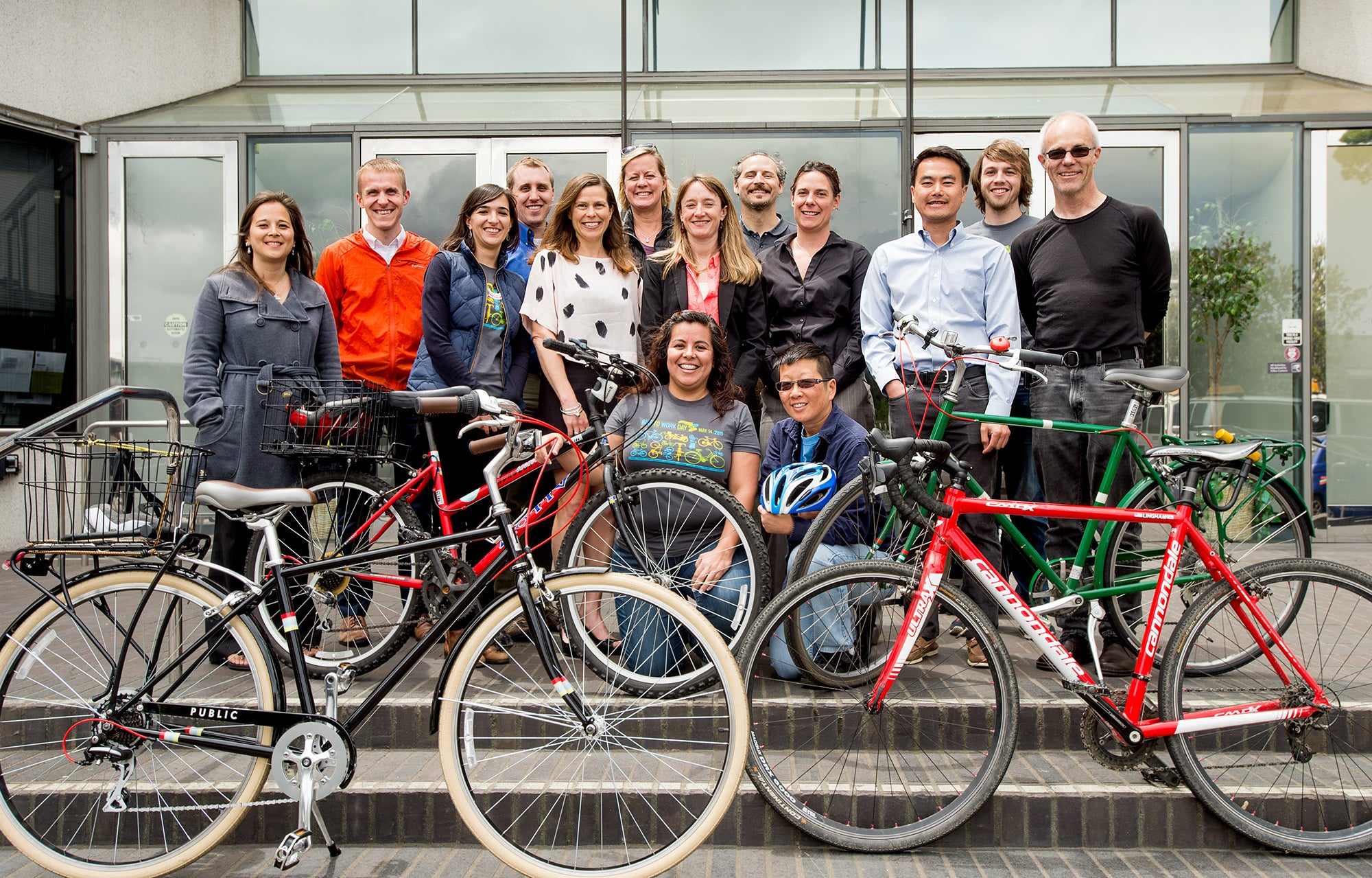 MTC staff who participated in Bike to Work Day
