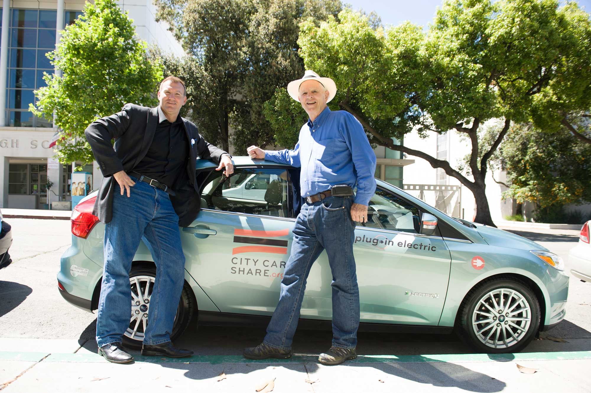 Berkeley City CarShare event