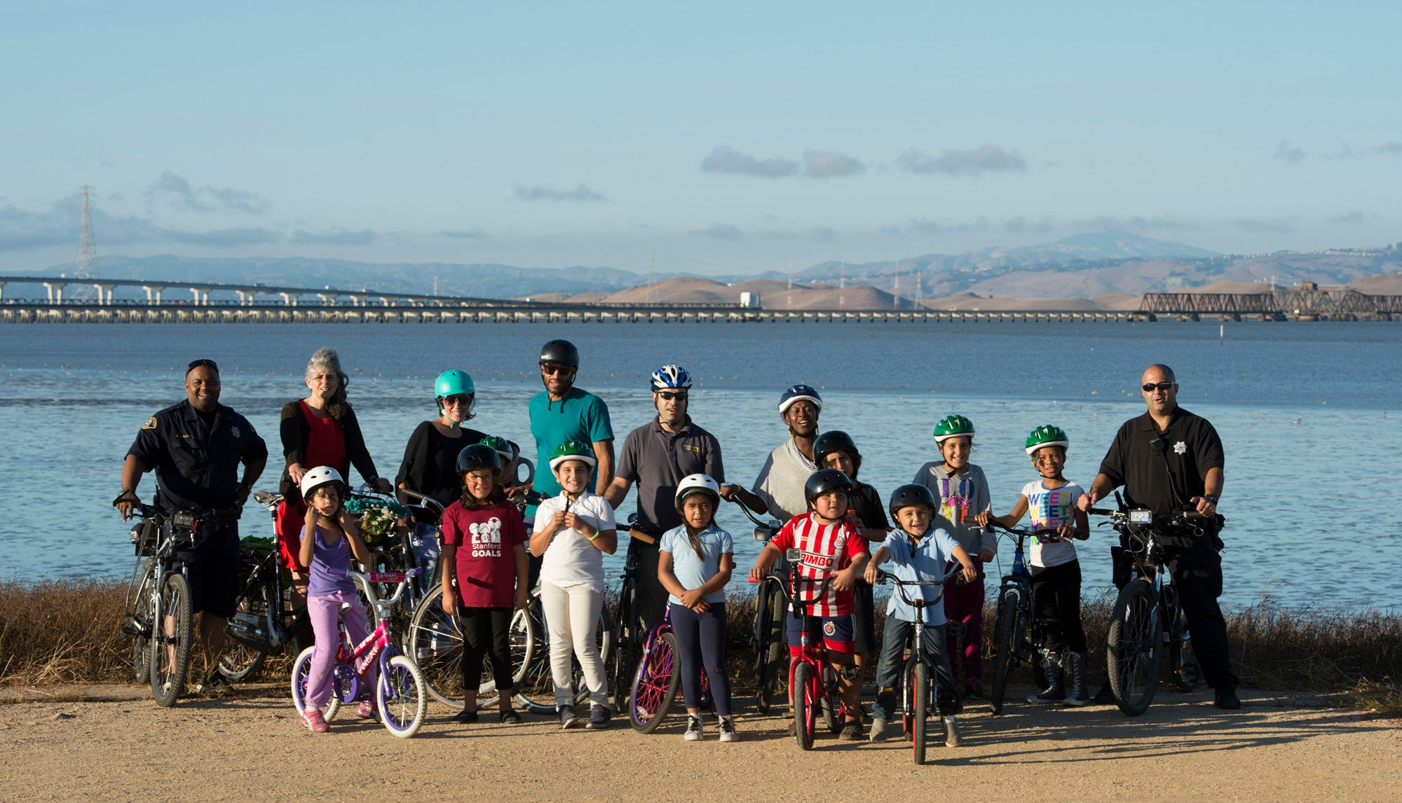 Family Biking Workshop in East Palo Alto