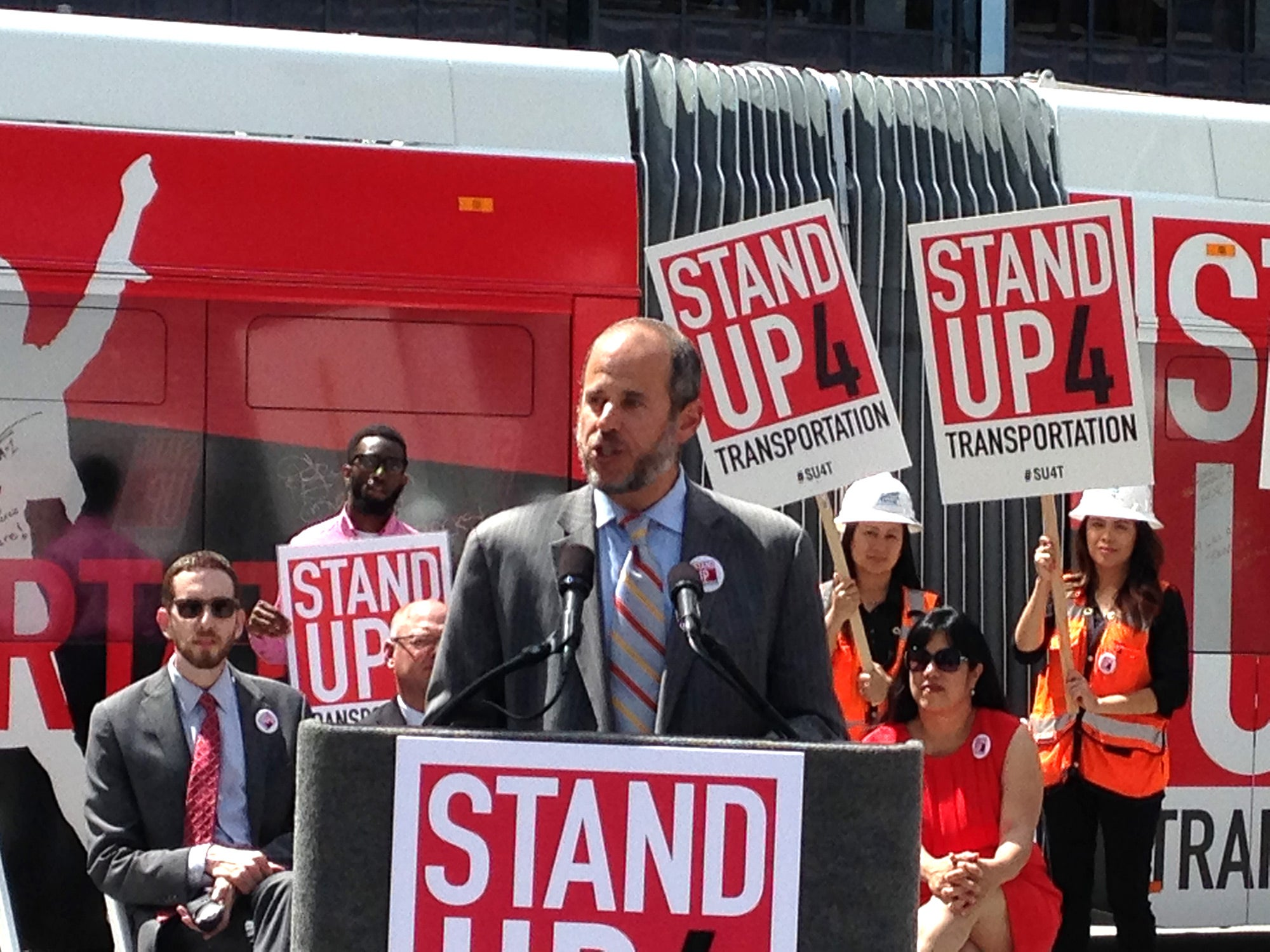 Ed Resikin, director of transportation for the San Francisco Municipal Transportation Agency
