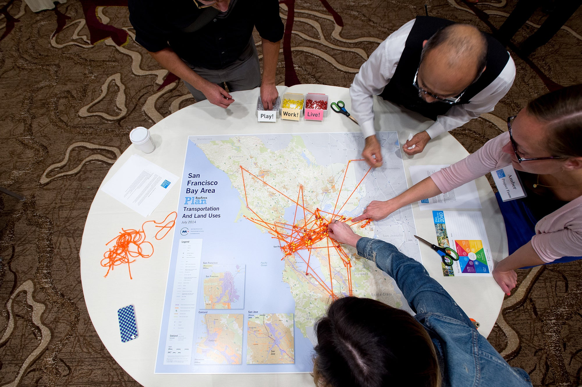 The live-work-play mapping exercise