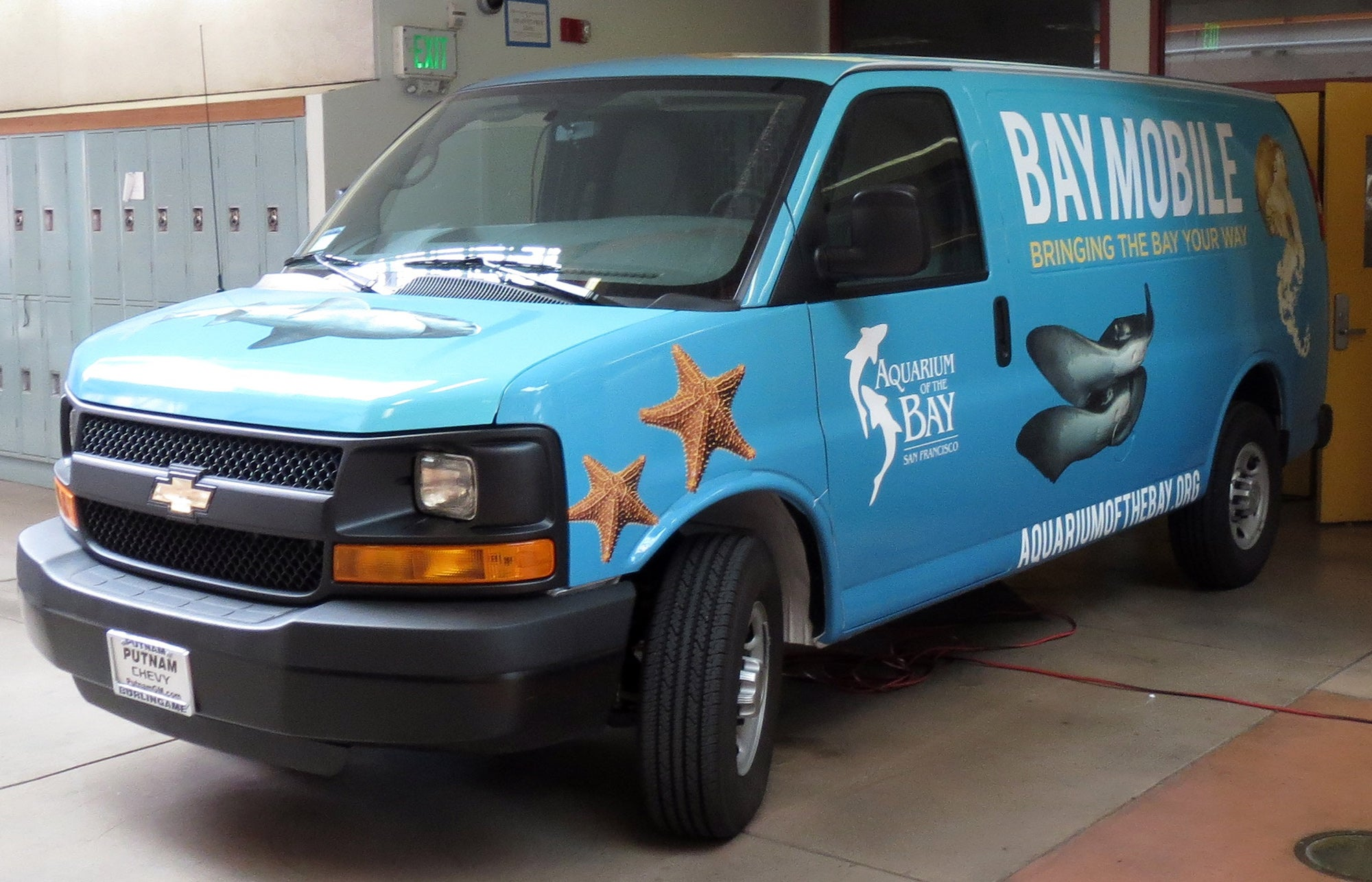 The BayMobile van is ready to roll.