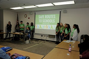 A presentation on Teen Impact on Safe Routes to Schools from the Alameda County Safe Routes to Schools Youth Task Force.
