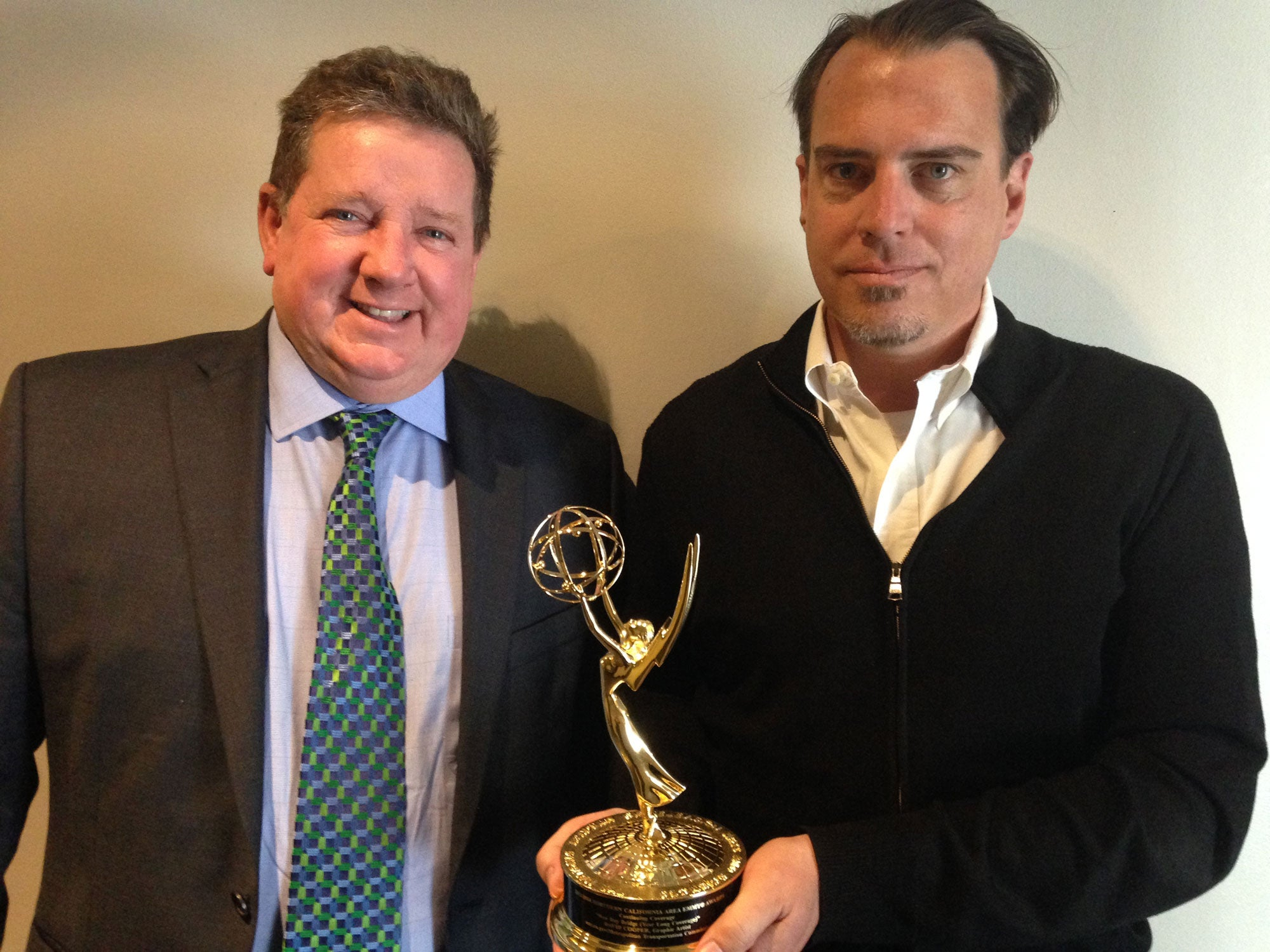 Emmy award for coverage of East Span SFOBB construction