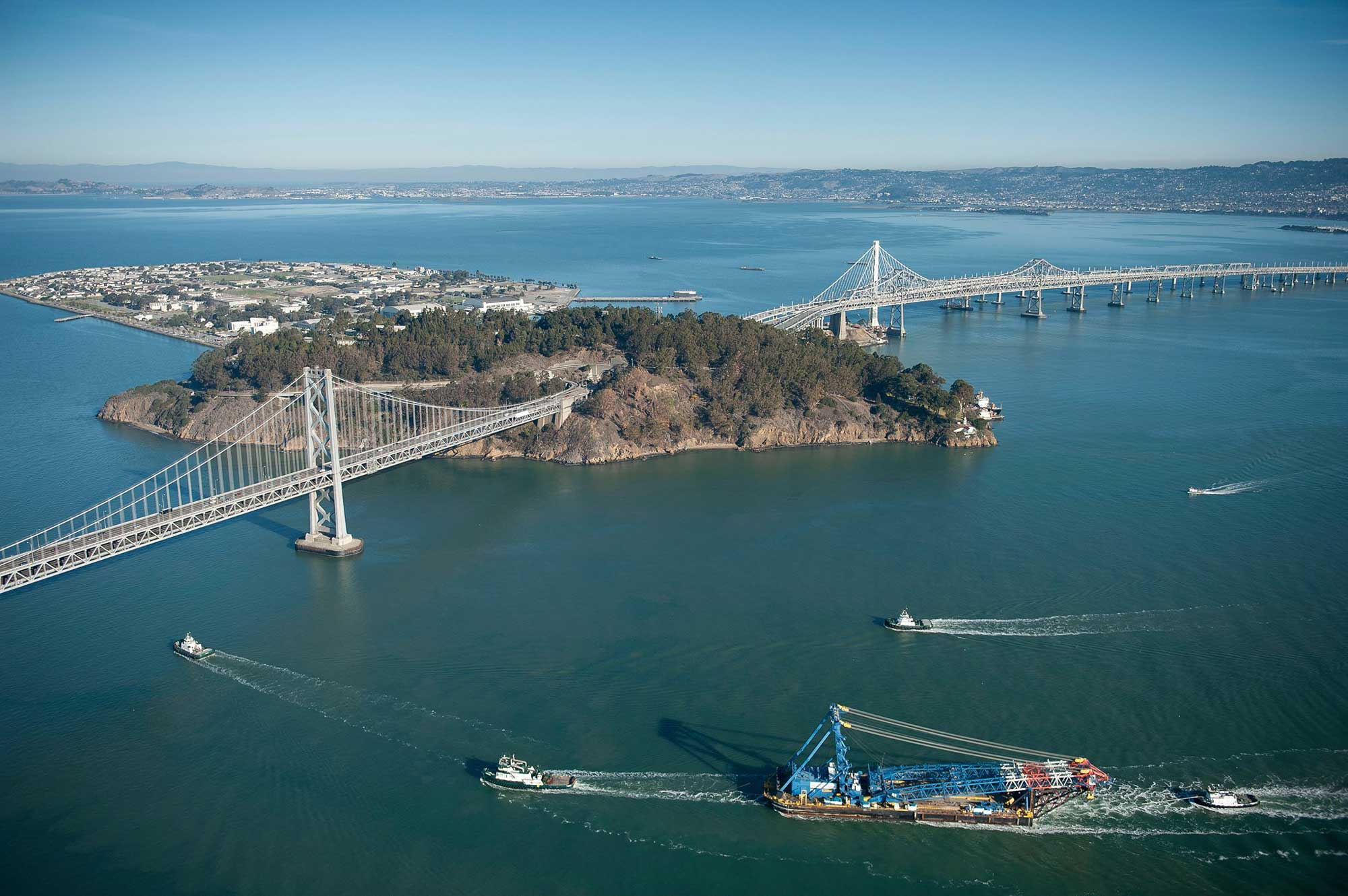 Left Coast Lifter leaves SF Bay