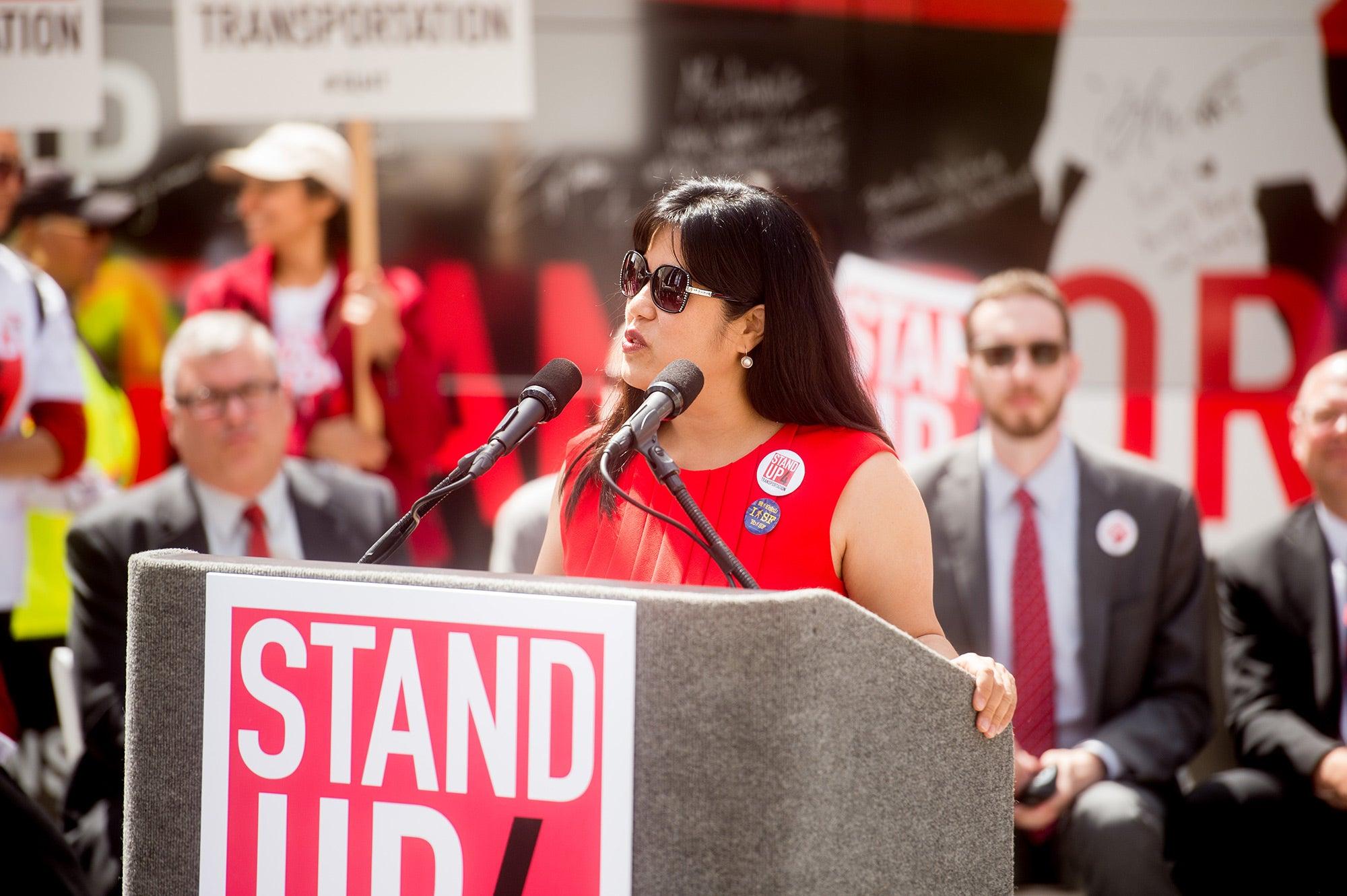 Tilly Chang, executive director, San Francisco County Transportation Authority
