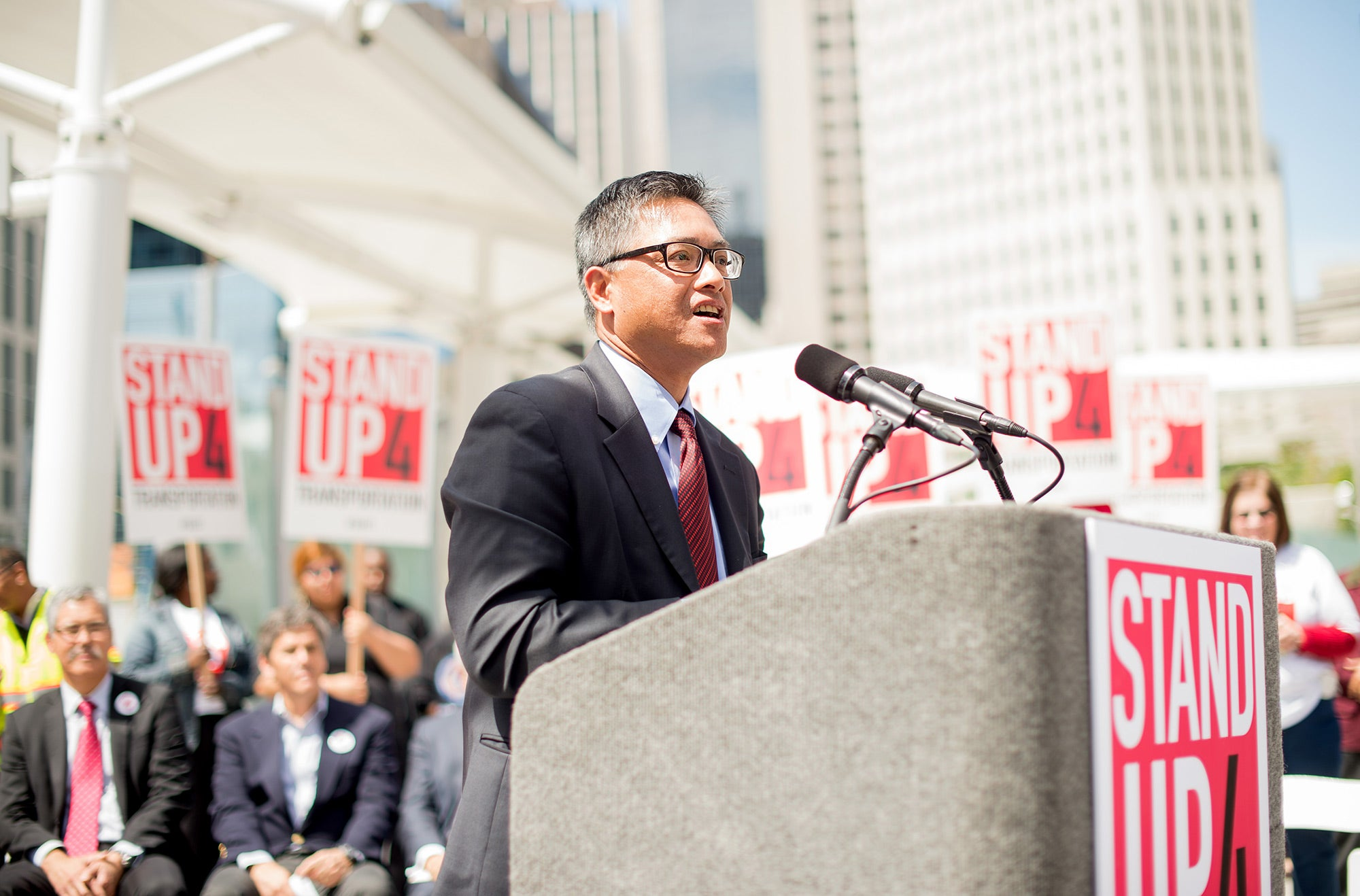 Arthur Dao, executive Director, Alameda County Transportation Commission