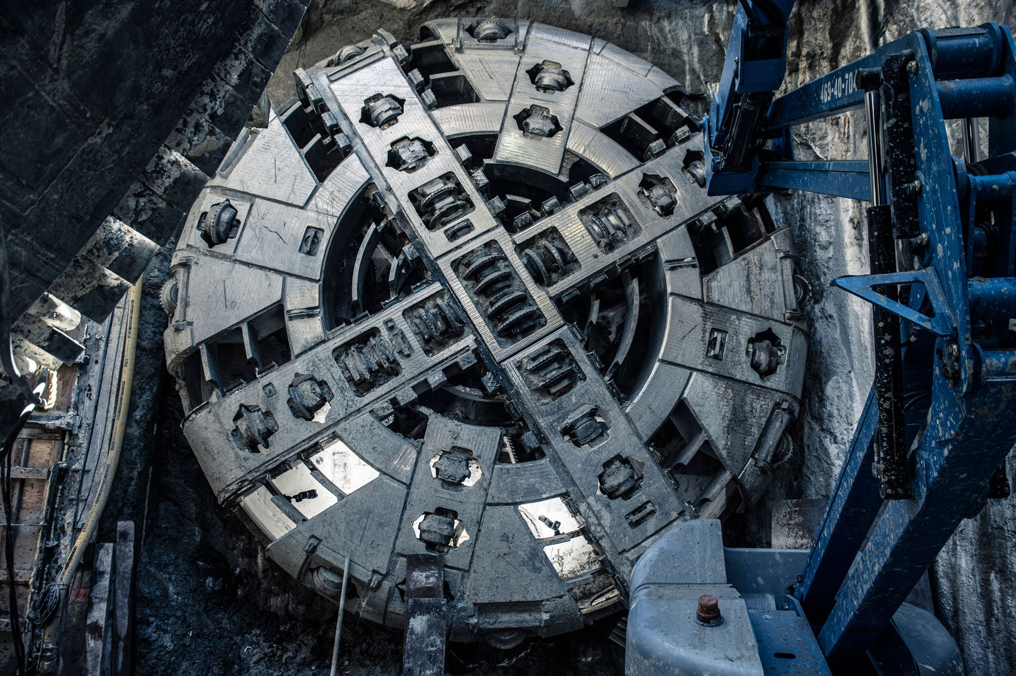 Tunneling machine for SF Central Subway Project